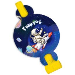 Σφυρίχτρες Blowouts Διάστημα (8 τεμ)