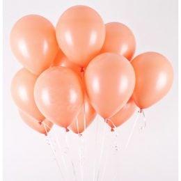 Σομόν Latex μπαλόνια (10 τεμ)