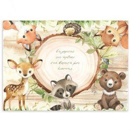 Σουπλά Ζώα του Δάσους