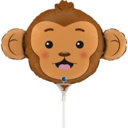 Mini Shape Μπαλόνι κεφάλι Μαϊμούς