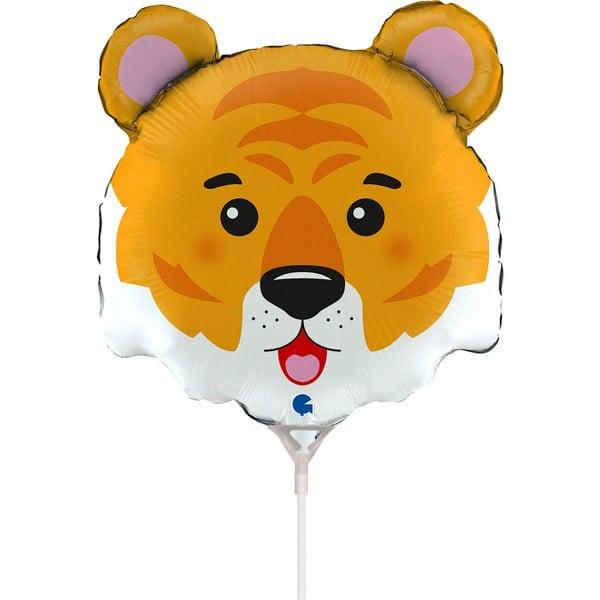 Mini Shape Μπαλόνι κεφάλι Τίγρης