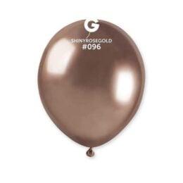 Ροζ-Χρυσό Shiny λάτεξ μπαλόνι