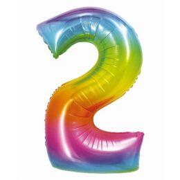Μπαλόνι Αριθμός 2 Rainbow