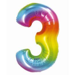 Μπαλόνι Αριθμός 32 Rainbow