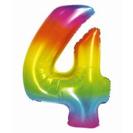 Μπαλόνι Αριθμός 4 Rainbow