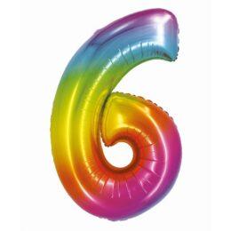 Μπαλόνι Αριθμός 6 Rainbow