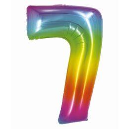 Μπαλόνι Αριθμός 7 Rainbow