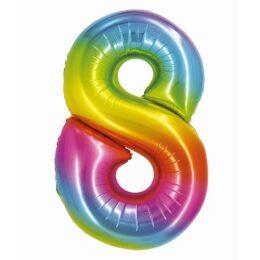 Μπαλόνι Αριθμός 8 Rainbow
