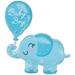 Μπαλόνι Ελεφαντάκι με μπαλόνι Baby Boy