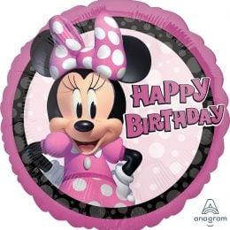 """17"""" Μπαλόνι Minnie Mouse Forever Birthday"""