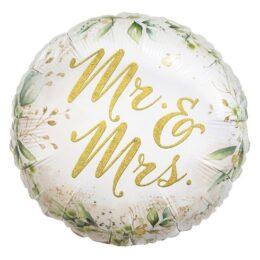 Μπαλόνι Mr & Mrs Κλαδί Ελιάς