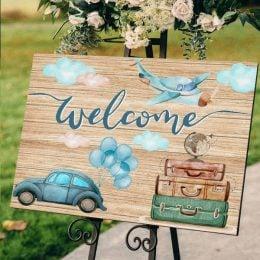 Καμβάς Βάπτισης Welcome Ταξίδια