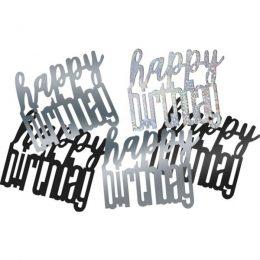 Κομφετί Glitz Happy Birthday