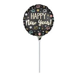 "10"" Mini Shape μπαλόνι Αστέρι Happy New Year"