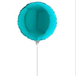 "10"" Mini Shape μπαλόνι παστέλ Γαλάζιο Tiffany"