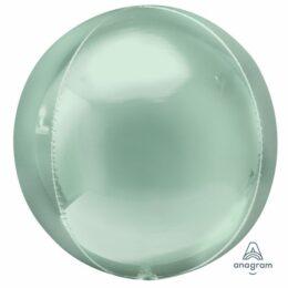 """15"""" Μπαλόνι πράσινο Μέντας Τρισδιάστατη Σφαίρα ORBZ"""
