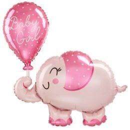 """30"""" Μπαλόνι Ελεφαντάκι Baby Girl"""