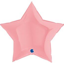 """36"""" Μπαλόνι ματ Ροζ Αστέρι"""