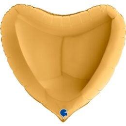 """36"""" Μπαλόνι Χρυσή Καρδιά"""