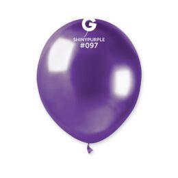 """5"""" Μοβ Shiny λάτεξ μπαλόνι"""