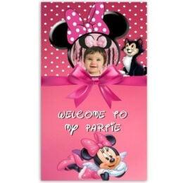 Μεγάλη Αφίσα με φωτογραφία Minnie Mouse