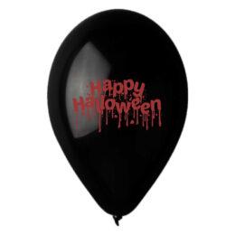 """13"""" Μπαλόνι ματωμένο Happy Halloween"""
