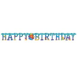 "Banner ""Happy Birthday"" Θαλάσσια Ζωή"