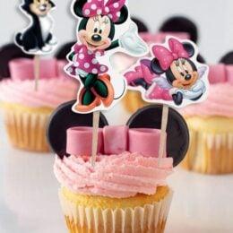 Οδοντογλυφίδες πάρτυ Minnie Mouse