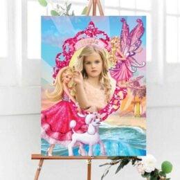 Καμβάς με φωτογραφία Barbie