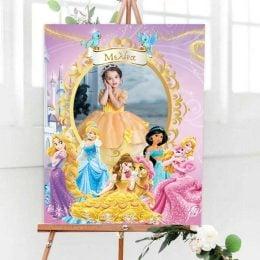 Καμβάς με φωτογραφία Πριγκίπισσες Disney