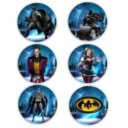 Ξύλινες Κονκάρδες Batman