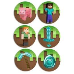 Κονκάρδες Minecraft