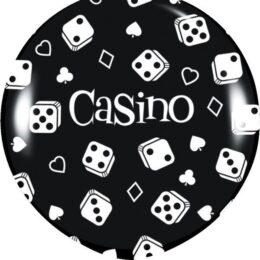 Μαύρο τεράστιο Μπαλόνι Καζίνο