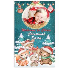 Μεγάλη Χριστουγεννιάτικη Αφίσα με φωτογραφία