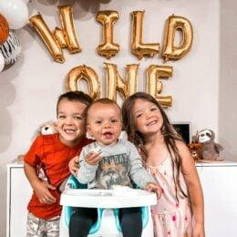 Μπαλόνια γράμματα χρυσά Wild One