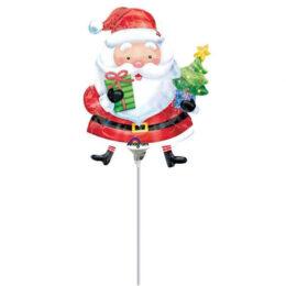 Mini Shape Μπαλόνι Άι-Βασίλης με δώρα