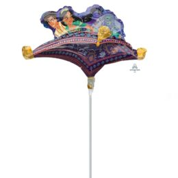"14"" Mini Shape μπαλόνι Aladdin"