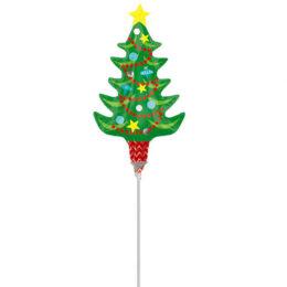 Mini Shape Μπαλόνι Χριστουγεννιάτικο Δέντρo