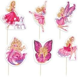 Οδοντογλυφίδες πάρτυ Barbie