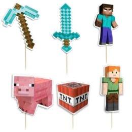 Οδοντογλυφίδες πάρτυ Minecraft