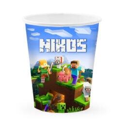 Ποτήρια με όνομα Minecraft