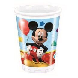 Ποτήρια Playful Mickey (8 τεμ)
