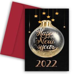 Πρωτοχρονιάτικη Κάρτα Gold 2022