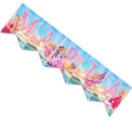Σημαιάκια με όνομα Barbie