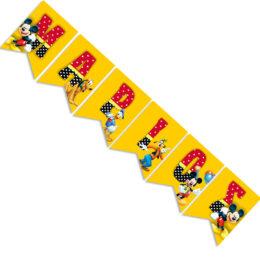 Σημαιάκια με όνομα Mickey Mouse