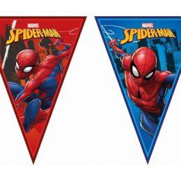 Τριγωνικά Σημαιάκια Spiderman