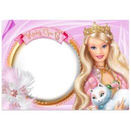Χάρτινα Σουπλά Barbie