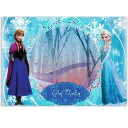 Χάρτινα Σουπλά Frozen