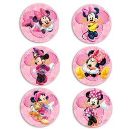 Ξύλινες Κονκάρδες Minnie Mouse