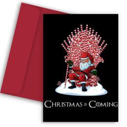 Χριστουγεννιάτικη Κάρτα Game of Thrones